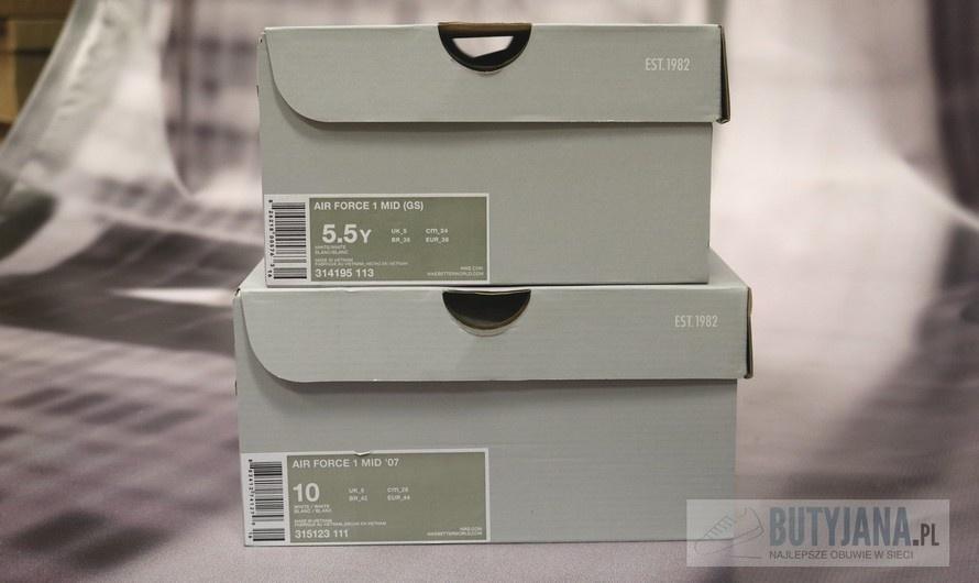nike czy buty damskie roznia sie rozmiarowo od meskich