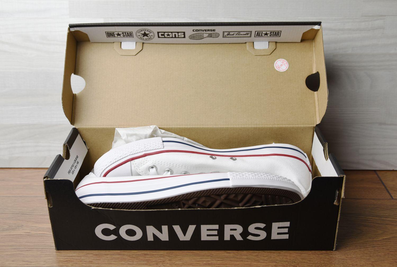 Oryginalne pudełko Converse papier ochronny