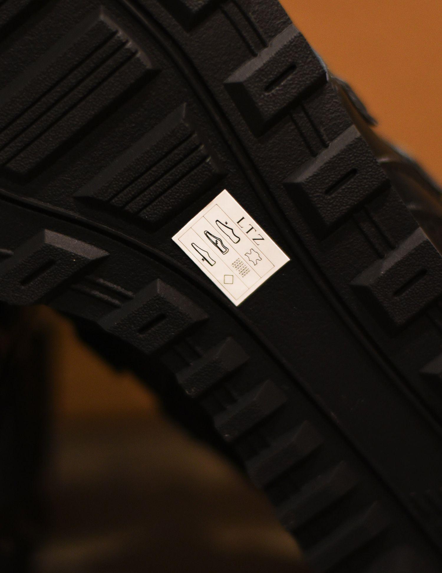 oznaczenia naskórzanych butach