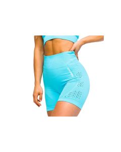 damskie GymHero California Cute Shorts BABYBLUE 001