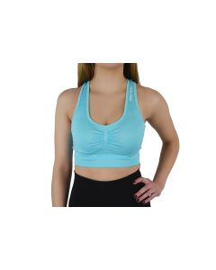 damskie GymHero Miami Cute Bra BASIC-BABYBLUE 001