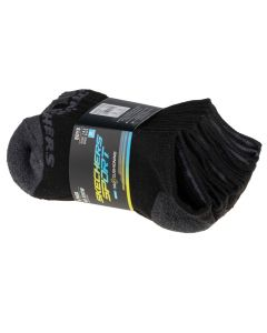 damskie Skechers 6pk No Show Socks S108263-BLK 001