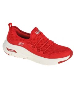 damskie Skechers Arch Fit Lucky Thoughts 149056-RED 001