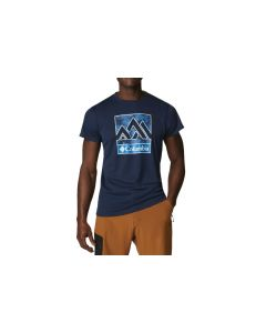 męskie Columbia Zero Rules S S Graphic Shirt 1533291464 001