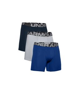 męskie Under Armour Charged Cotton 3IN 3 Pack 1363617-400 001
