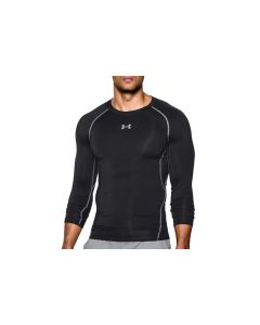 męskie Under Armour Heatgear Compression Longsleeve 1257471-001 001