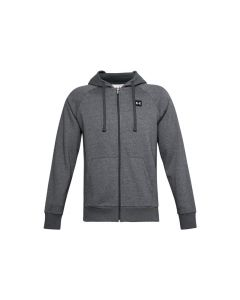 męskie Under Armour Rival Fleece FZ Hoodie 1357111-012 001