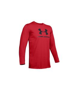 męskie Under Armour Sportstyle Logo Long Sleeve 1329283-608 001