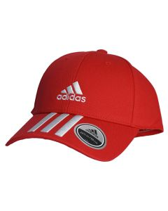 unisex adidas Baseball 3-Stripes Twill Cap GM6269 001